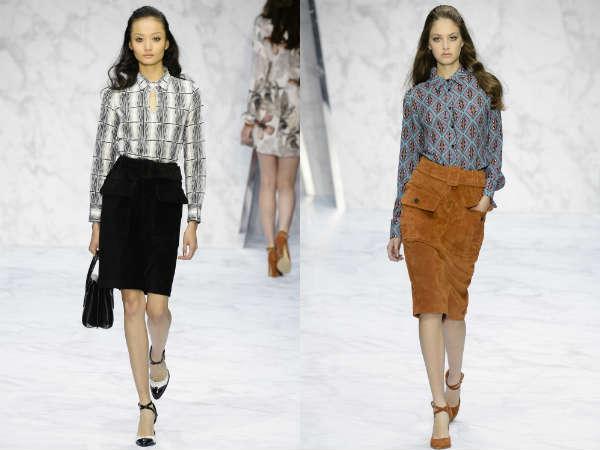 Saias 2016 moda Primavera-Verão