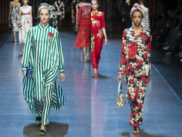 Calça feminina primavera-verao 2016: estampados