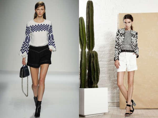 Moda 2016 shorts curtos