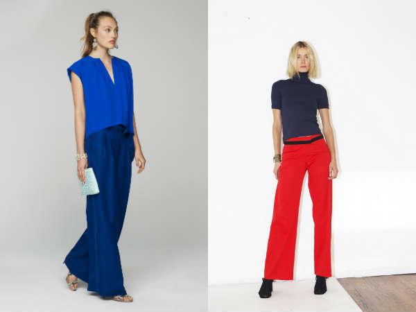 Calcas feminina 2016 primavera-verão: cores