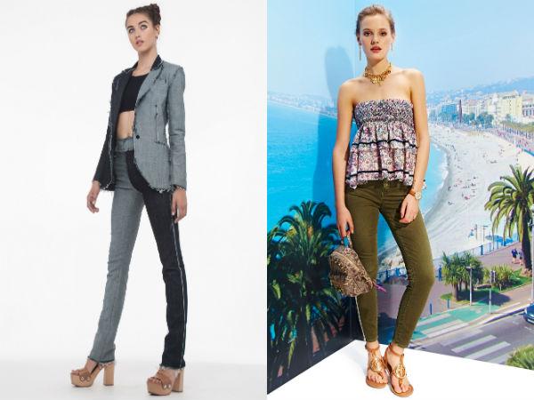 Jeans skinny da moda 2016 Primavera-Verão
