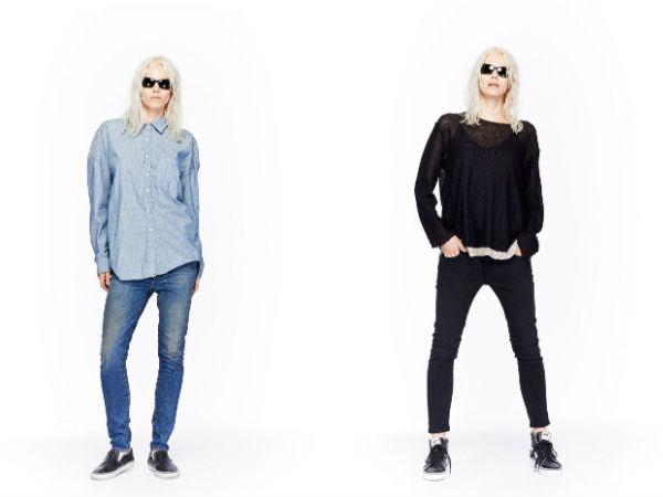 O que jeans são em estilo em primavera 2016
