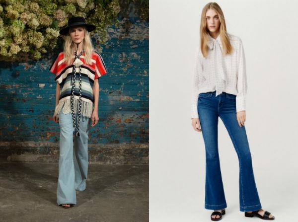 Jeans retro Primavera-Verão 2016