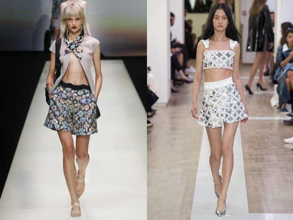 Pantaloncini di gamba larga 2016 primavera-estate