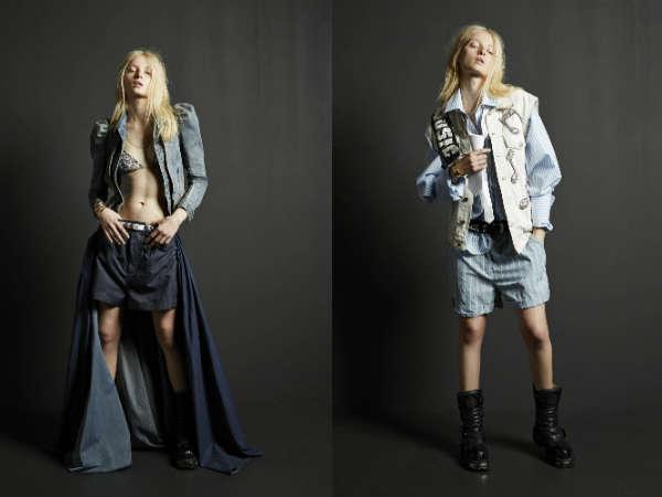 Moda 2016 Pantalones cortos denim