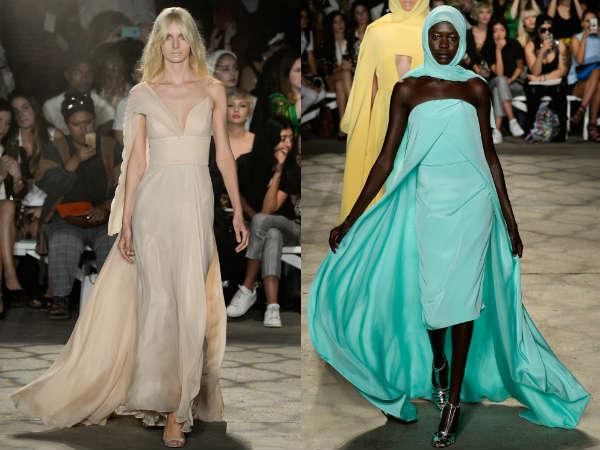 O que são vestidos em grande estilo no verão 2016
