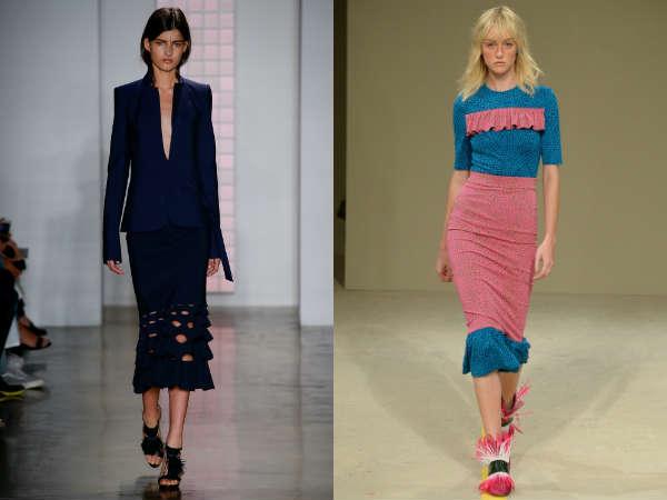 O que saias são em grande estilo em 2016