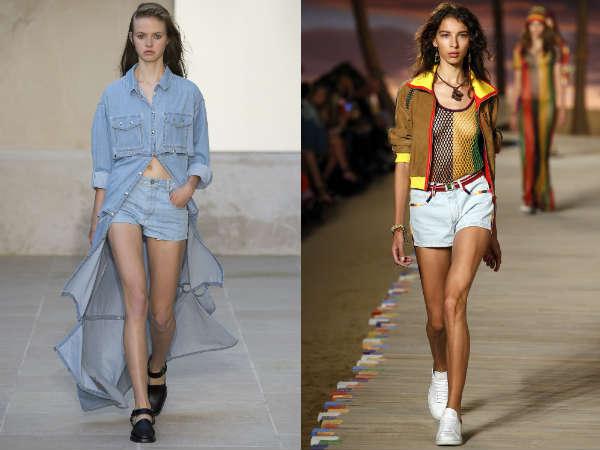 Che modelli di pantaloncini sarano di moda nel'estate 2016