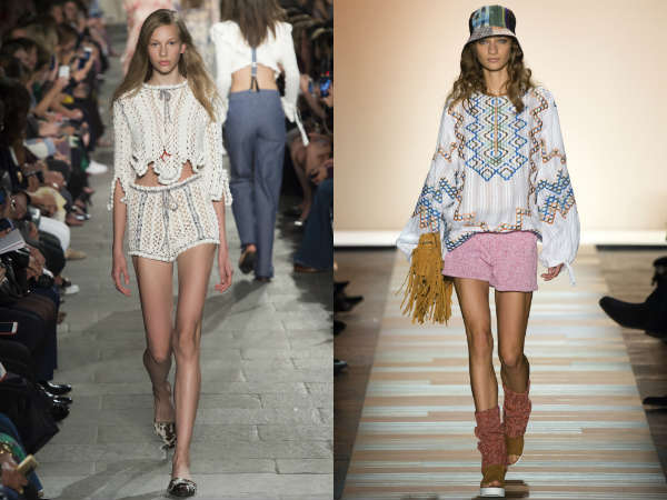 Pantalones cortos tejidos para mujer 2016