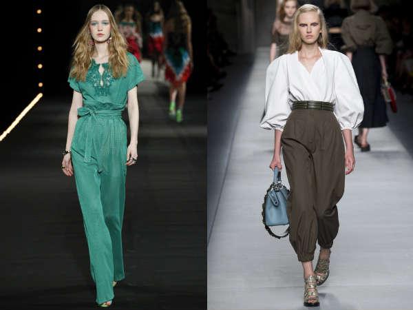 Pantaloni a vita alta primavera-estate 2016