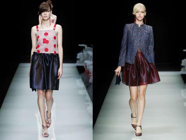 Saias queimado de moda Primavera-Verão 2016