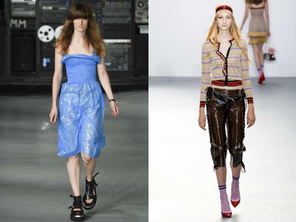 Moda 2016 Pantalones cortos transparentes
