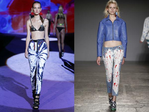 jeans estampado da moda