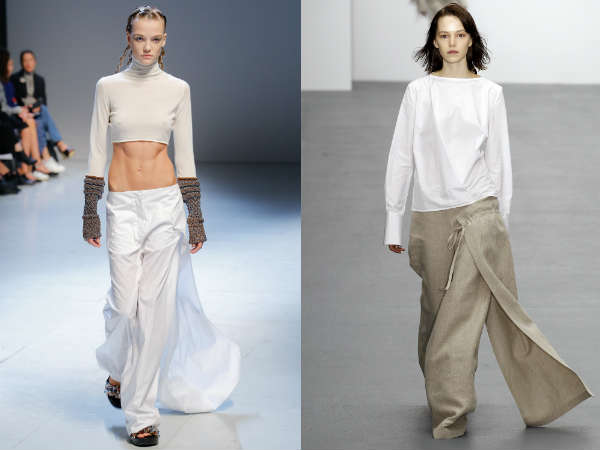 Pantaloni 2016 con gonna