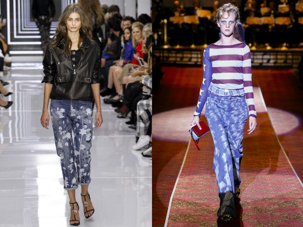 O que cor de calças jeans é em estilo em 2016