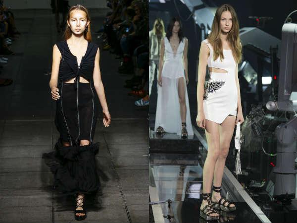 O que vestidos são no estilo na 2016