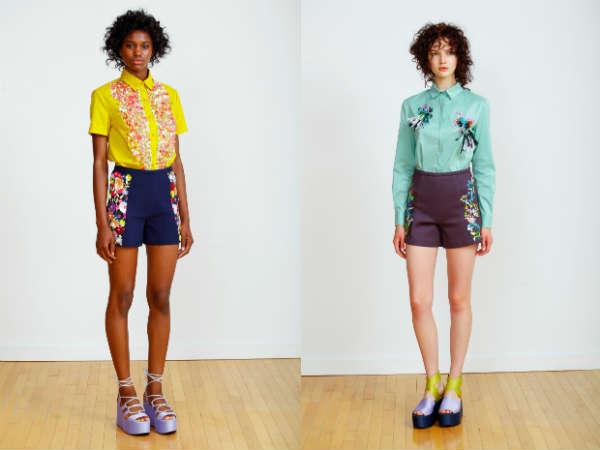 Pantaloncini primavera-estate 2016: Colori e impressioni