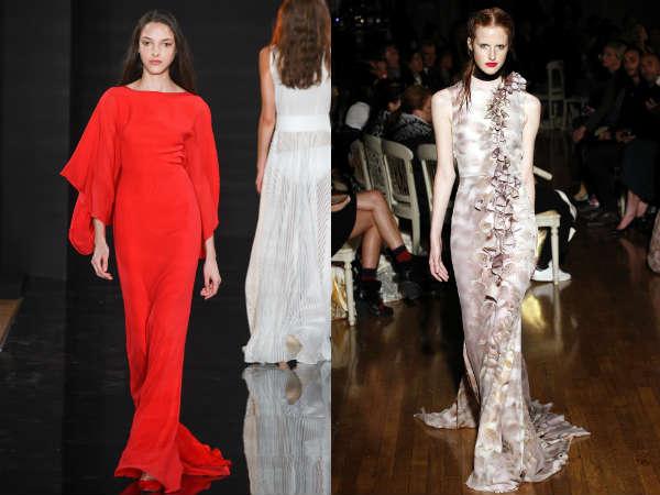 Vestidos largos y elegantes 2016