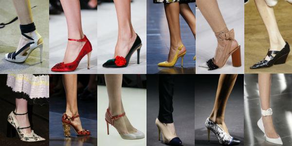 las tendencias de calzado de la mujer 2016