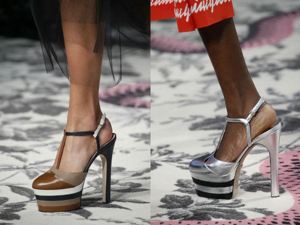 Sandalias de zapatos de primavera-verano 2016