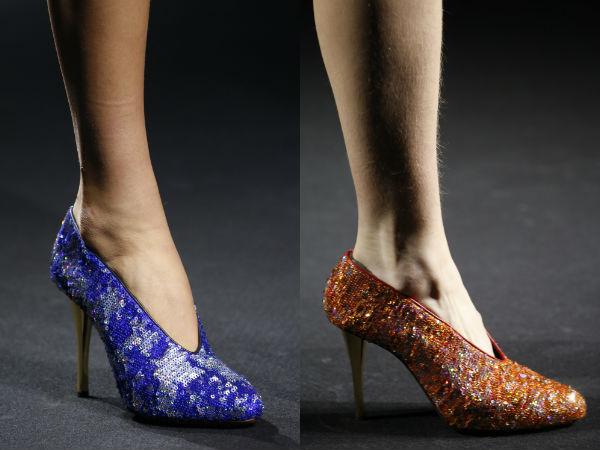 Las mujeres los zapatos primavera verano 2016: decoración