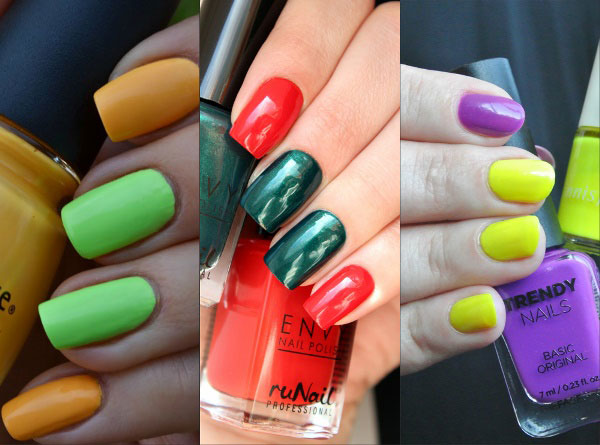 Que cores manicure de usar este ano