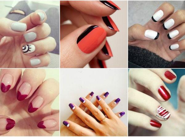 Dibujos en las uñas de moda