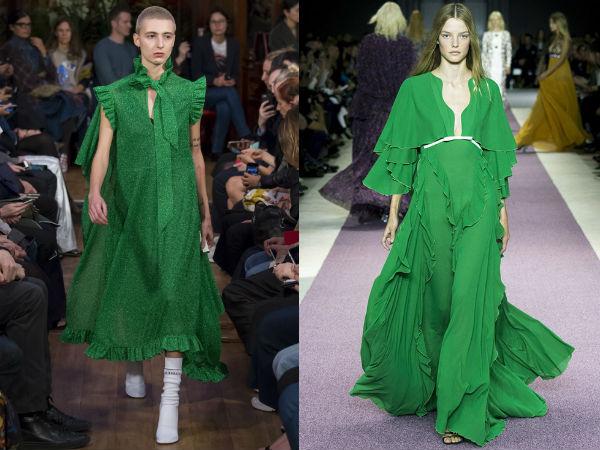 vestidos de verão verde