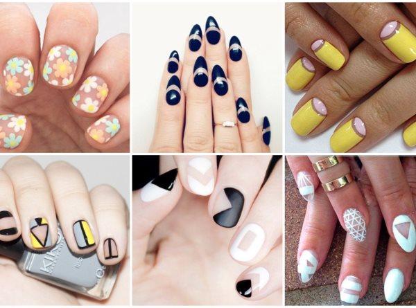 tendenza manicure 2016: Negative Space