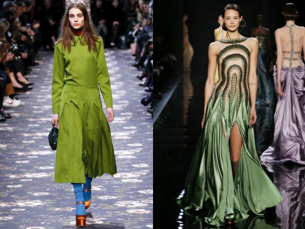 ¿De qué color vestido para usar en invierno 2016