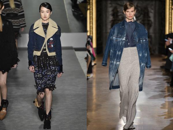 Jaquetas jeans femininas outono-inverno 2016 2017