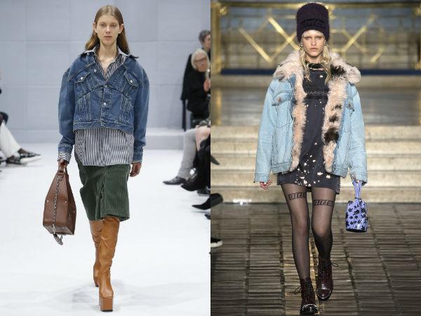 Jaqueta jeans À moda