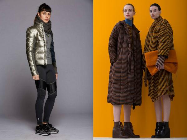 Jaqueta de inverno à moda