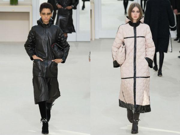 Diseños elegantes chaquetas largas