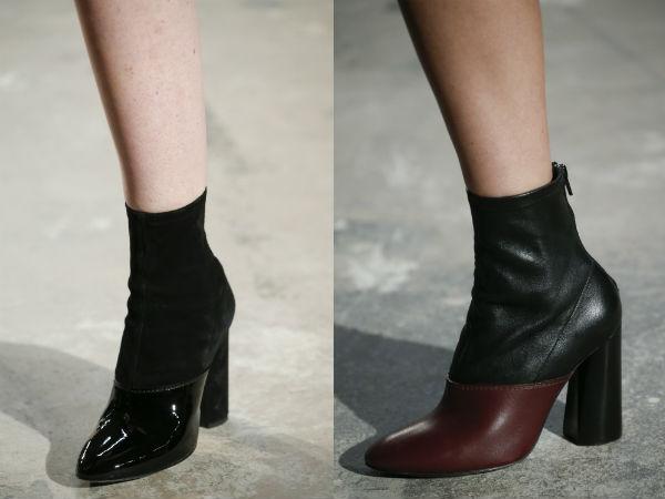 calçados combinada tecidos das mulheres