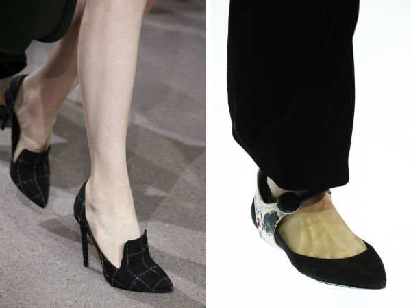 calzature da donna eleganti con tacco a punta