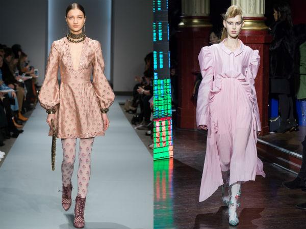 vestidos de manga larga de Otoño-Invierno 2017 2016