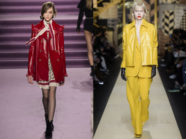 jaquetas de couro falso