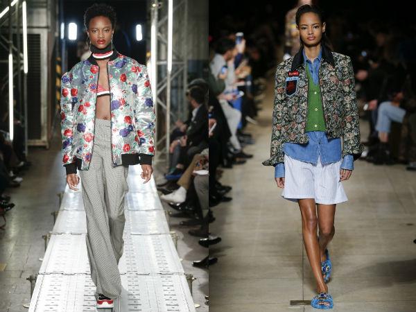 Outono inverno 2016 2017 jaquetas de mulheres: Prints