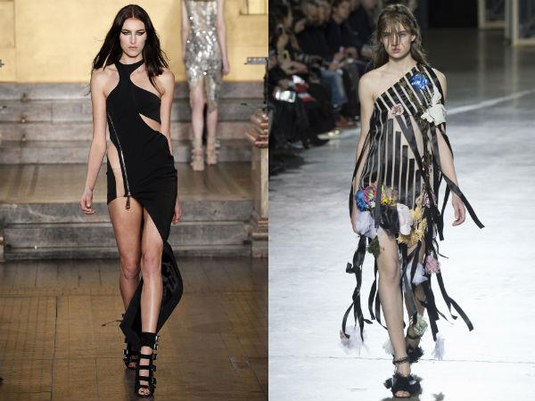 vestidos extravagantes de la moda