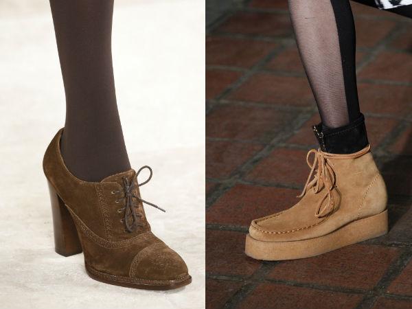 tendencias de calzado de las mujeres 2017 de invierno