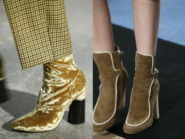 28d45c5f03 tendencias de calzado de las mujeres 2017 de invierno. Gamuza calzado Otoño  2016. 9