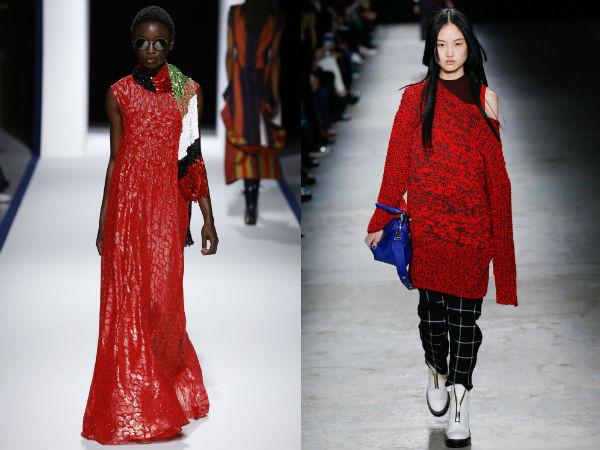 Colori moda 2017 luminoso rosso