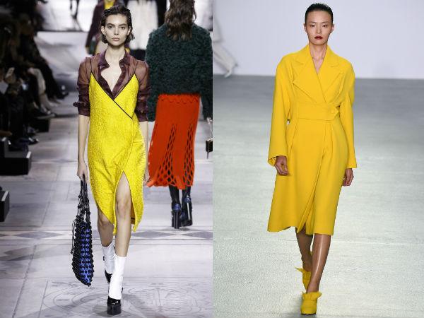 indumento giallo