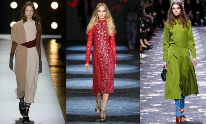 Cores da moda outono-inverno 2016-2017