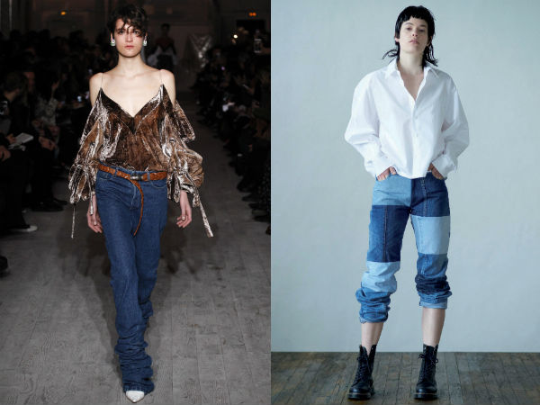 Jeans inusual diseña 2017