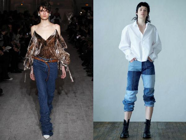 Projetos de jeans incomuns 2017