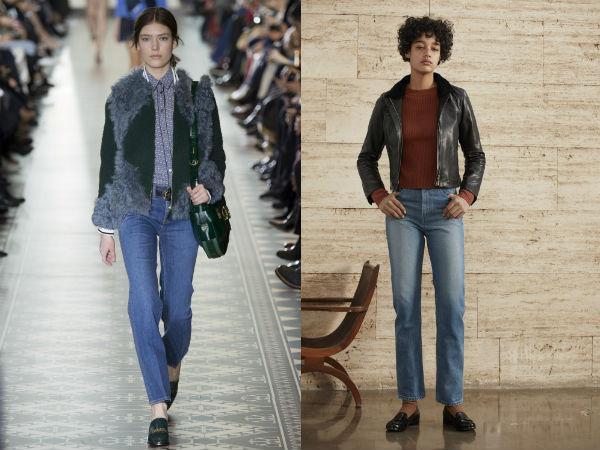 "Jeans clássicos de inverno"" width="