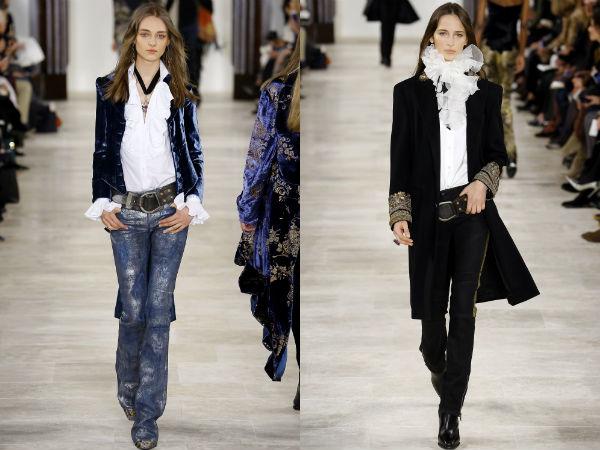 Mujeres jeans otoño invierno 2016 2017: colores