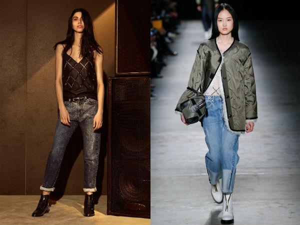 ¿Qué jeans vestir en el otoño de 2016